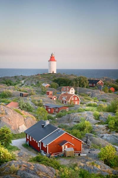 Die schwedische Insel Landsort