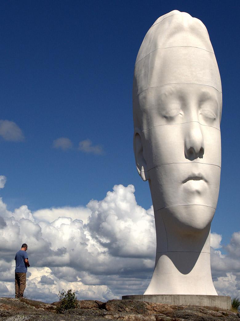 Die weltweit schweißtreibendste Kunstroute