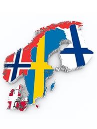Die nordischen Nationalhymnen